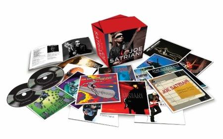 Joe Satriani - 15 CD box set - promo pic - 2014