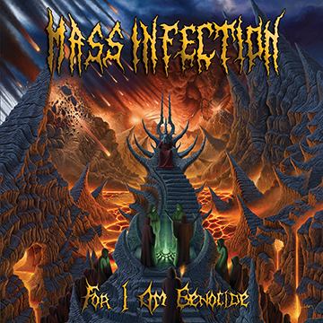Mass Infection - For I Am Genocide - promo album pic - 2014