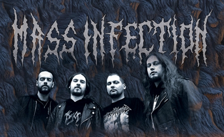 Mass Infection - promo band pic - band logo - #29490 - 2014