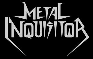 Metal Inquisitor - band logo - B&W - 2014