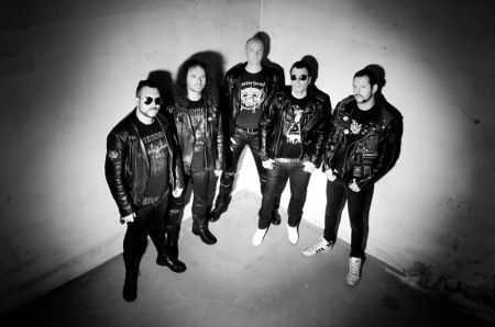 Metal Inquisitor - promo band pic - B&W - 2014 - #2919
