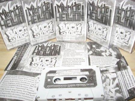 Midnite Hellion - Bitchin' at champs! - cassette promo pic - 2014