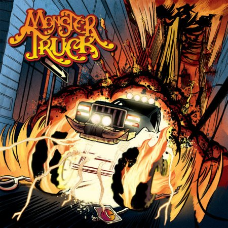 Monster Truck - Debut S:T EP - promo cover pic - 2010