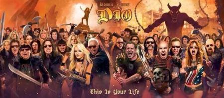 Ronnie James Dio - This Is Your Life - promo album banner - 2014