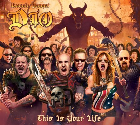 Ronnie James Dio - This Is Your Life - promo cover pic - 2014
