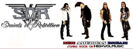 Saints Of Rebellion - new american dream - promo album banner - 2014 - #73