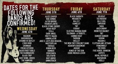Sweden Rock Festival - band lineups - dates - promo banner - 2014