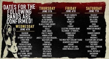 Sweden Rock Festival - band lineups - dates - promo banner - 2014