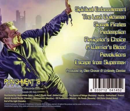 Untimely Demise - Systematic Eradication - back cover - promo pic - 2013