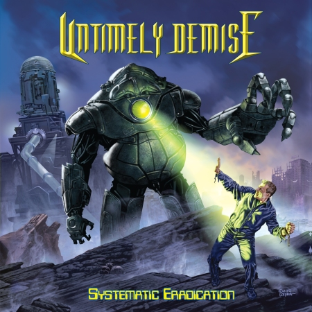 Untimely Demise - Systematic Eradication - promo cover pic