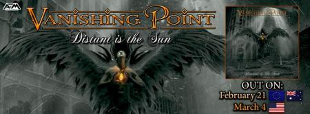 Vanishing Point - Distant Is The Sun - promo album banner - 2014