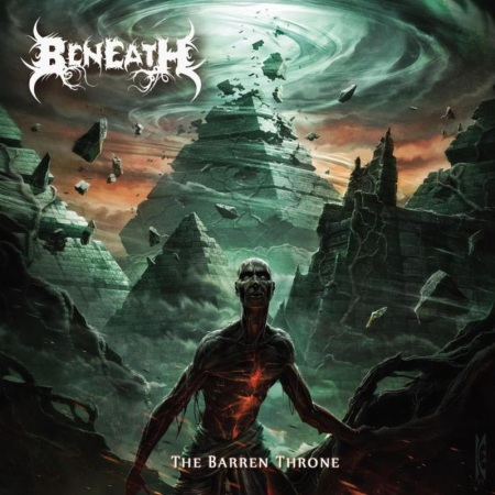 Beneath - The Barren Throne - promo cover pic - 2014