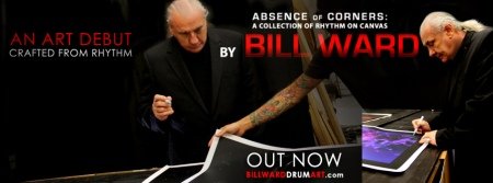 Bill Ward - Absence of Corners - promo header - 2013 - #3395