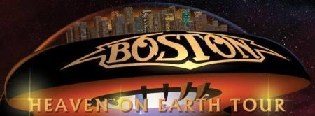 Boston - Heaven On Earth Tour - promo banner - 2014