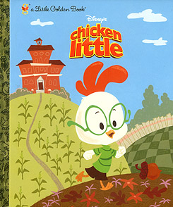 Chicken Little - childrens book - promo cover pic
