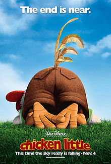 Chicken Little - Walt Disney - movie poster - animated - #33908