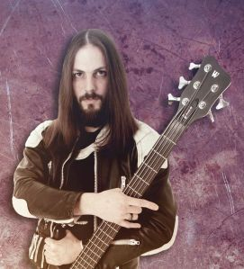Daniel Perl - bassist - Gloryful - publicity photo - 2014 - #59600