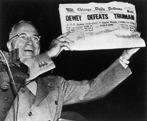 Dewey defeats Truman - promo pic - history - #449