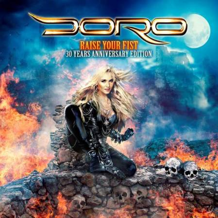 Doro - Raise Your Fist - 30 Years Anniversary Edition - promo cover - 2014