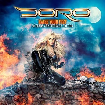 Doro - Raise Your Fist - 30 Years Anniversary Edition - promo cover - 2014