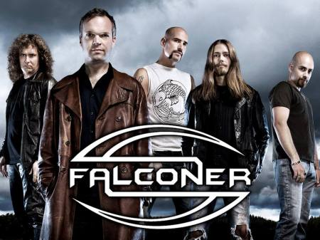 Falconer - promo band - band logo pic - 2014 - #26618