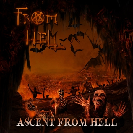 From Hell - Ascent From Hell - promo cover pic - 2014 - #7317