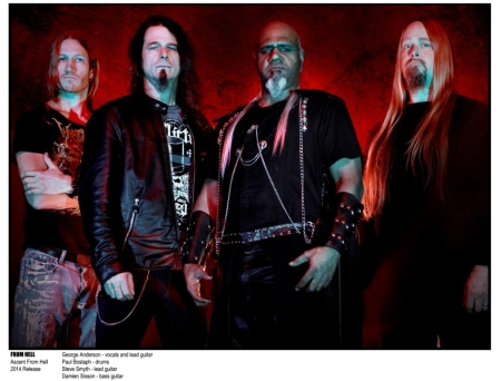 From Hell band promo photo med - 2014