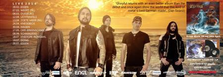 Gloryful - band - ocean blade - promo banner pic - 2014