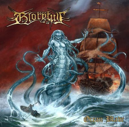 Gloryful - Ocean Blade - promo cover pic - 2014 - massacre records