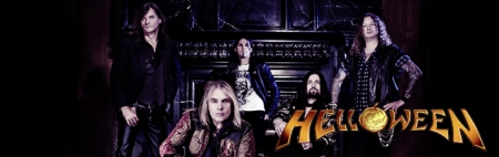 Helloween - promo band banner - 2014 - #86800