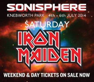 Iron Maiden - Sonisphere - promo flyer - 2014 - #466110