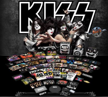 Kiss - Kissteria - The Ultimate Vinyl Road Case - promo flyer - 2014
