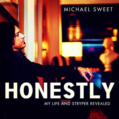 Michael Sweet - Honestly - My Life And Stryper Revealed - promo book cover pic - 2014 - #777