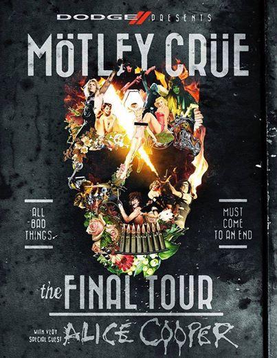 Motley Crue - The Final Tour - promo flyer - 2014