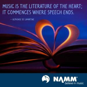 NAMM - music quote - #42905 - 2014
