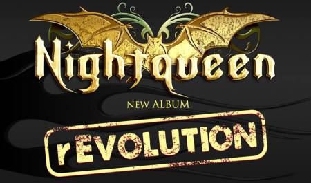 Nightqueen - new album revolution - promo banner - 2014 - #472