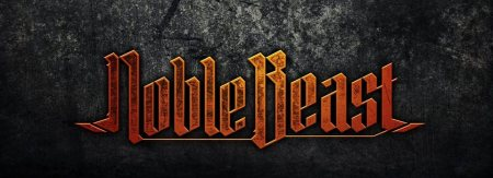 Noble Beast - band logo - large - 2014 - #776