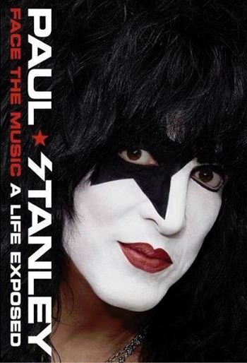 Paul Stanley - Face The Music - A Life Exposed - book promo pic - 2014