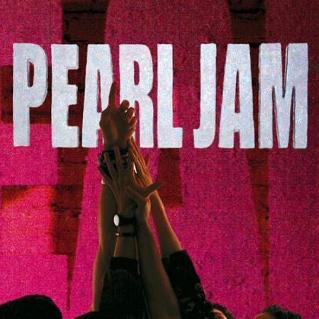 Pearl Jam - Ten - promo cover pic - large - #77409