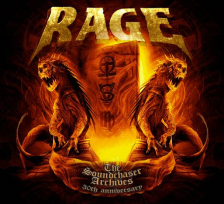RAGE - The Soundchaser Archives 30th Anniversary - promo cover pic - 2014