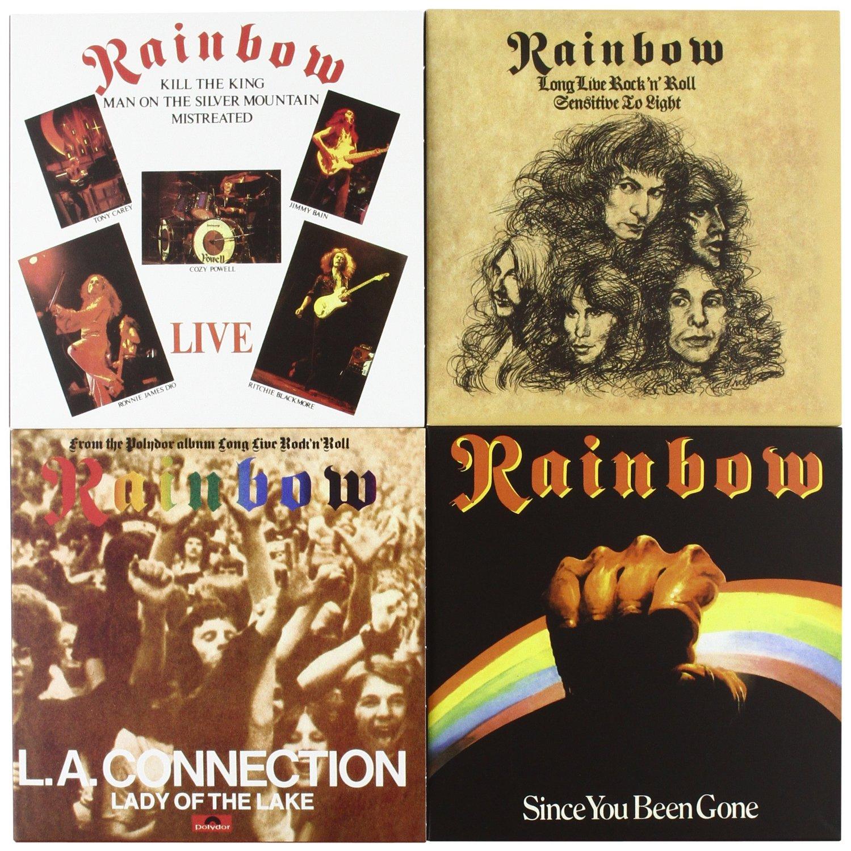 Rainbow The Singles Box Set 1975 1986 Vinyl Replica