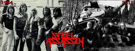 Steel Assassin - 1984 - 2012 - promo band banner pic