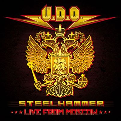 U.D.O. - Steelhammer - Live From Russia - promo cover pic - 2014