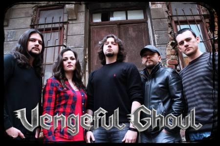 Vengeful Ghoul - promo band pic - logo - 2014 - #8538