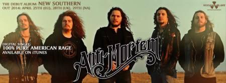 Anti-Mortem - New Southern - promo album - band banner pic - 2014