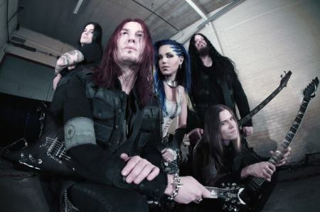 Arch Enemy - promo band pic - 2014 - #43077