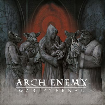 Arch Enemy - War Eternal - promo cover pic - 2014