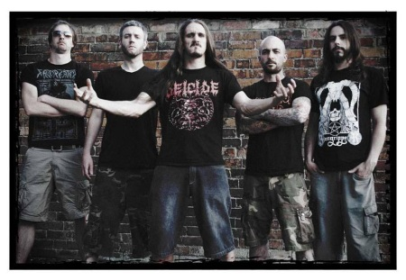 Flayed Disciple - promo band pic - 2014 - #4099