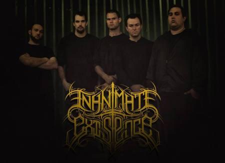 Inanimate Existence - promo band pic - band logo - 2014 - #03703