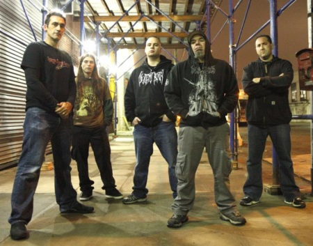 Internal Bleeding - promo band pic - 2014 - #9989